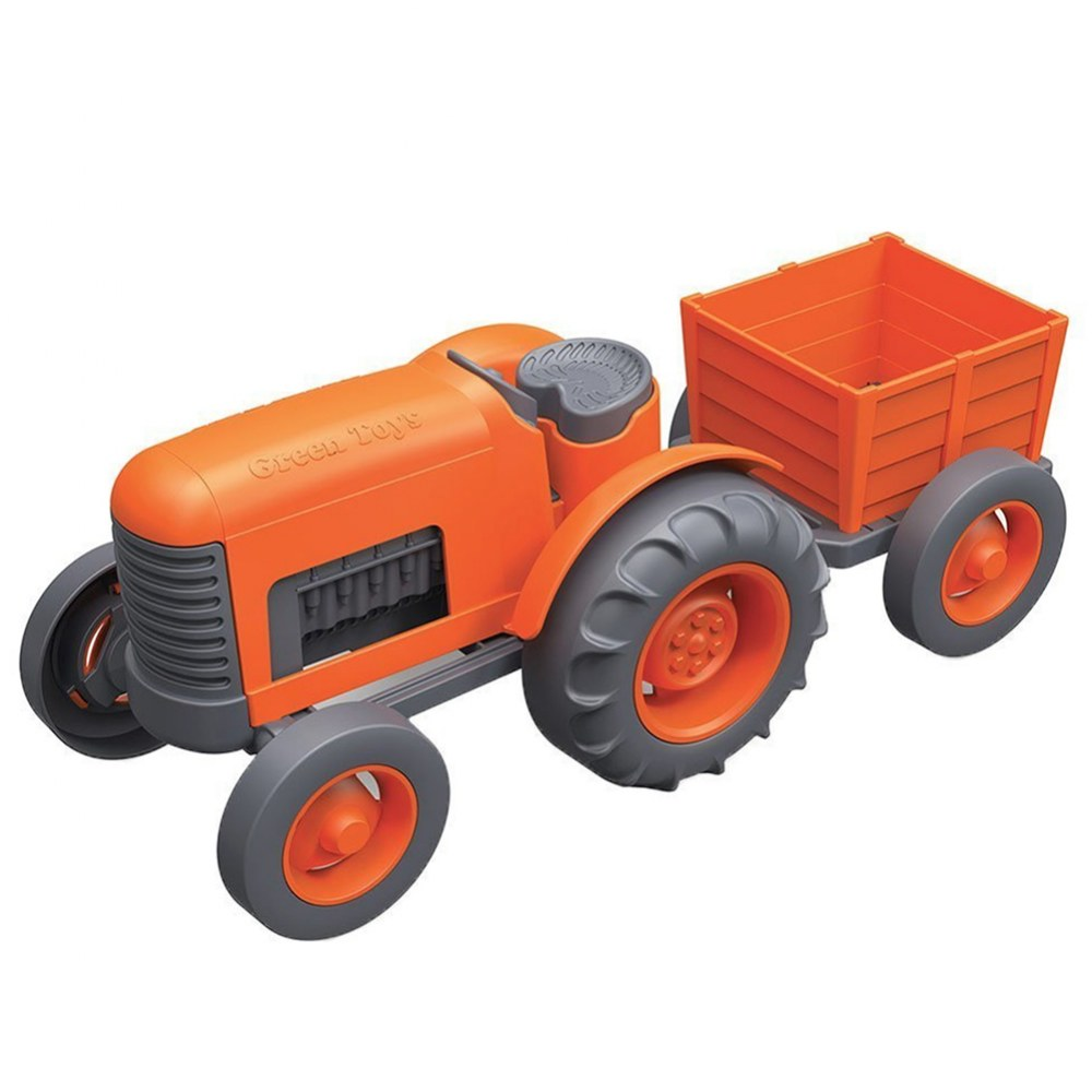 Tractor With Rear Trailer