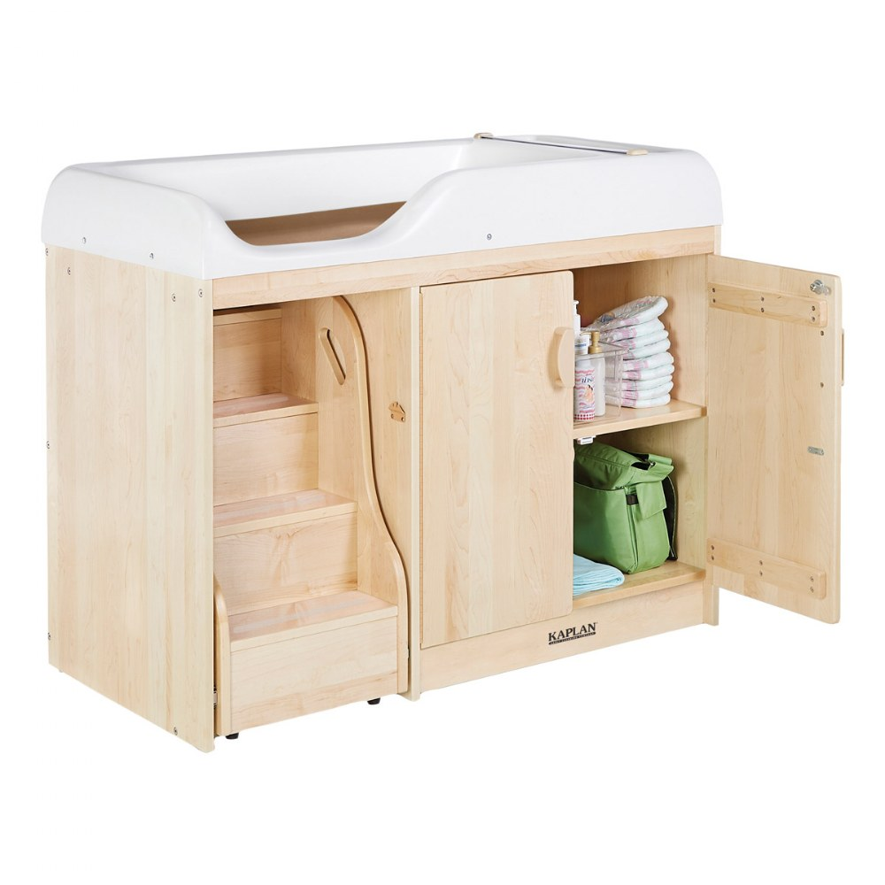 Alternate Image #2 of Maple Changing Table