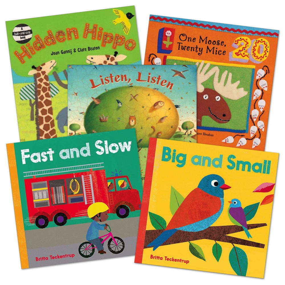 Barefoot Books Board Book Set - Set of 5