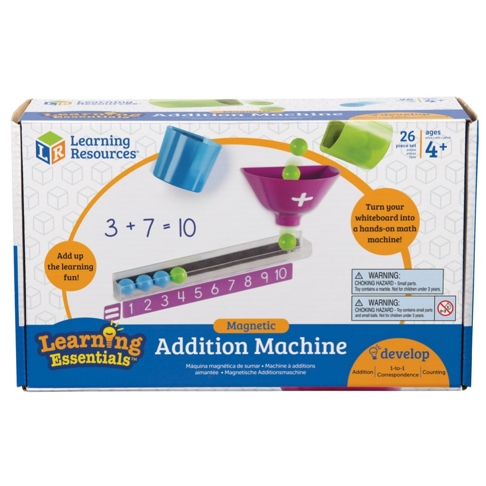 Alternate Image #2 of Magnetic Addition Machine