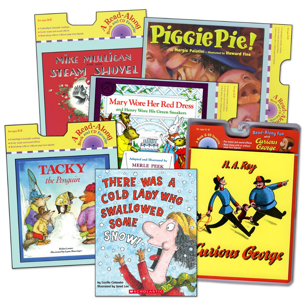 Classic Read Aloud Book and CDs -  Set of 6