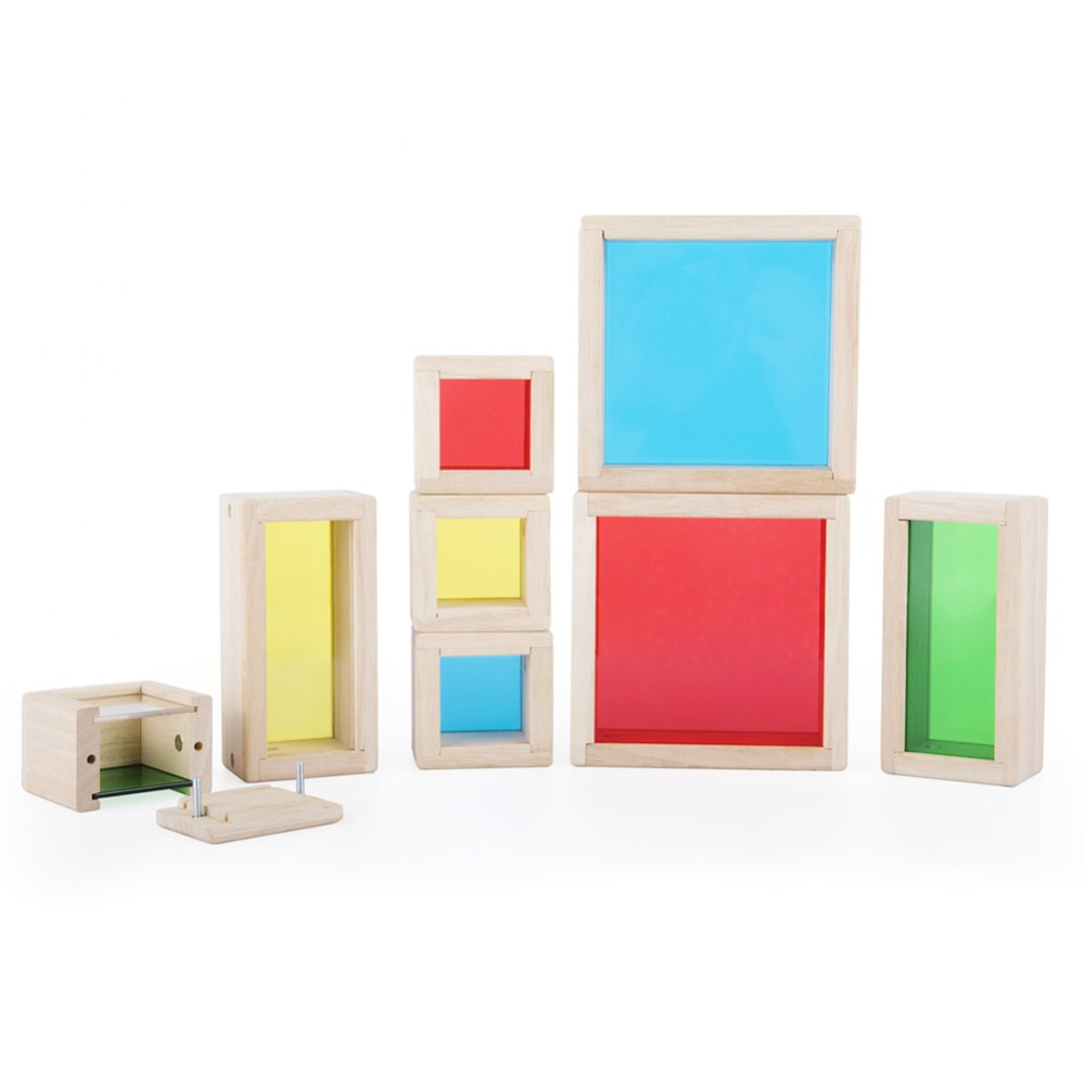Primary Treasure Blocks - Set of 8