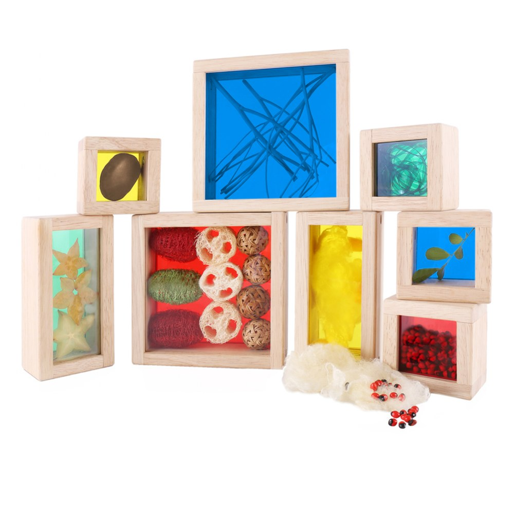 Alternate Image #2 of Primary Treasure Blocks - Set of 8