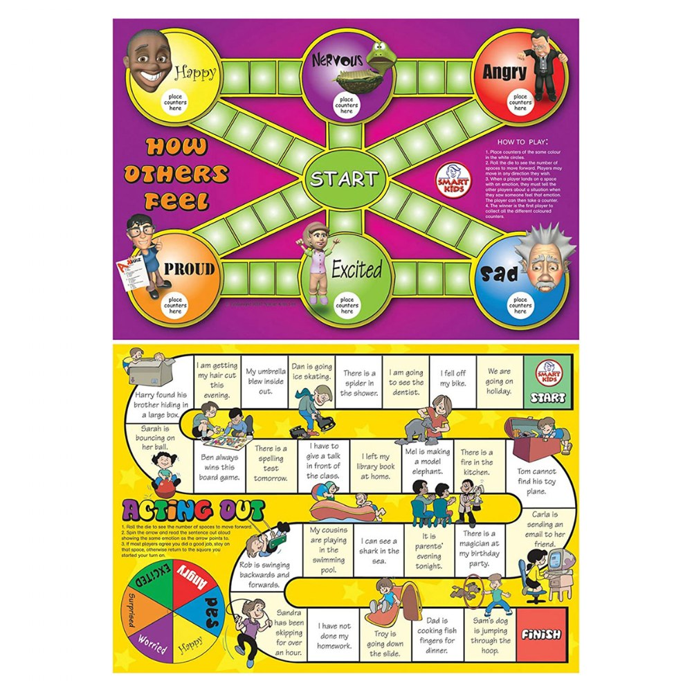 Alternate Image #2 of Social Skills Board Games