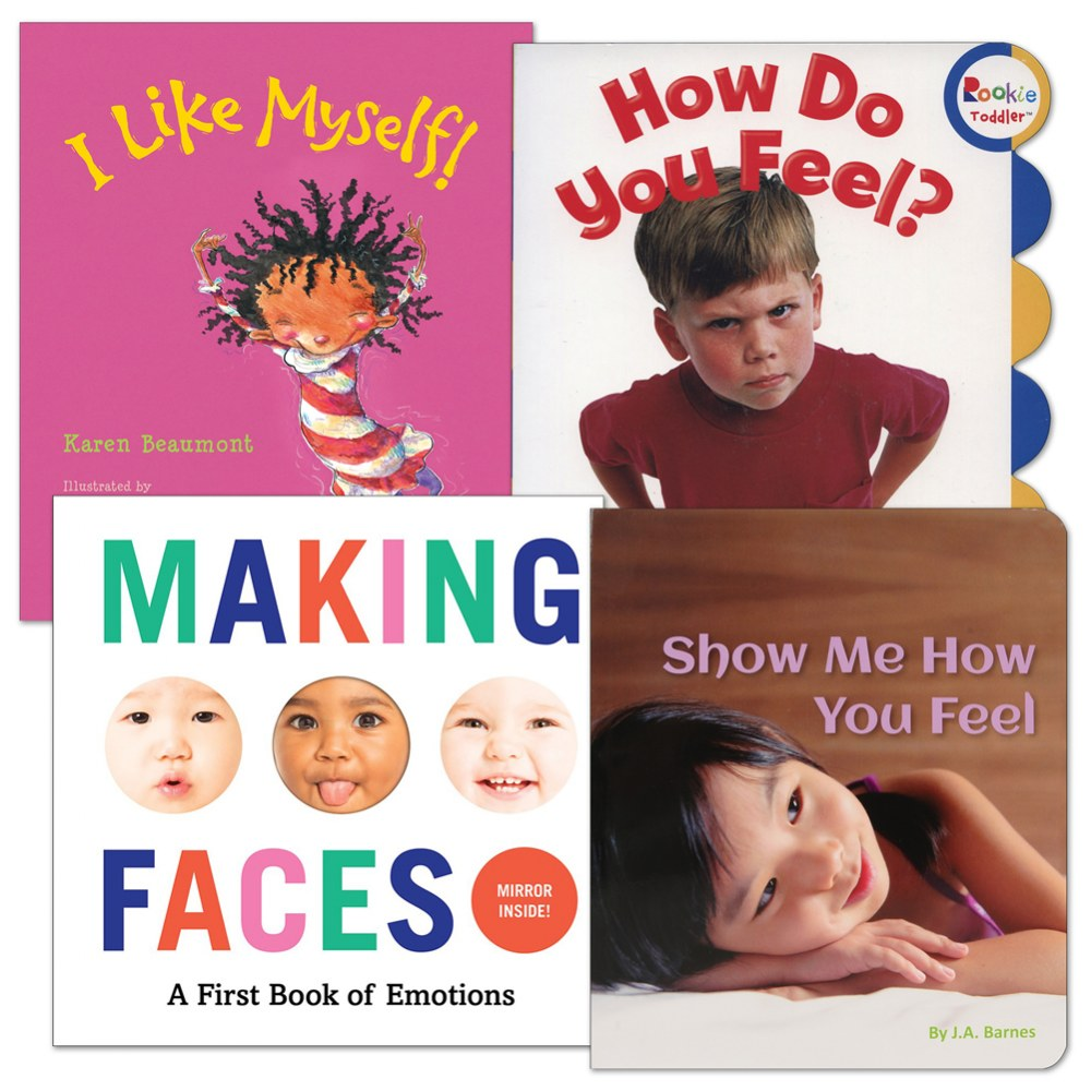 Social Emotional Board Book Set - Set of 4