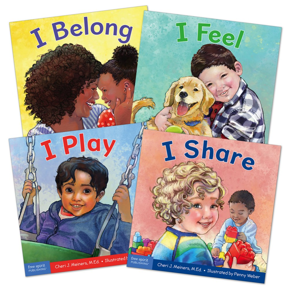 Social Awareness Board Book Set - Set of 4