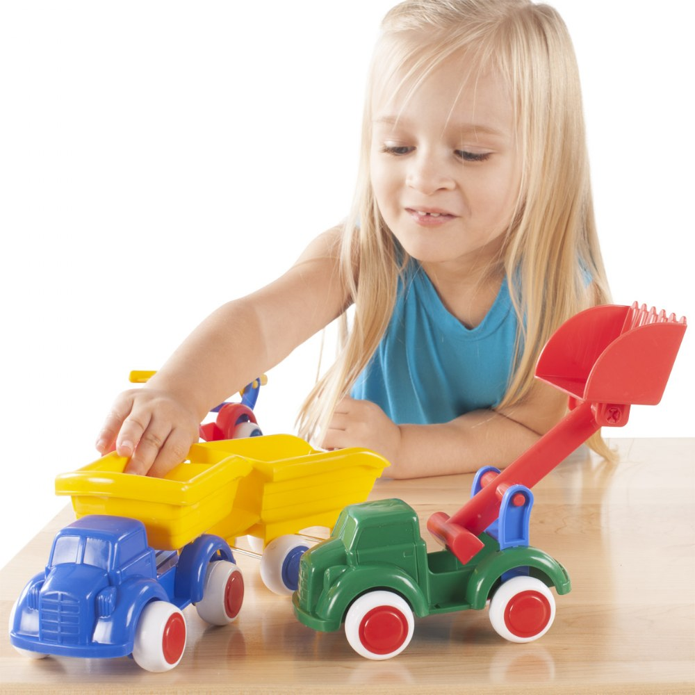Alternate Image #1 of Toddler Bigger Vehicle Fun Set Assortment