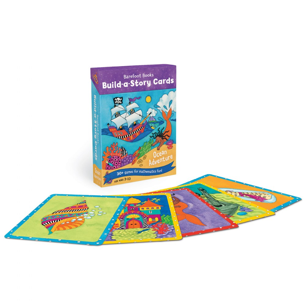 Build-a-Story Cards: Ocean Adventure - Card Deck