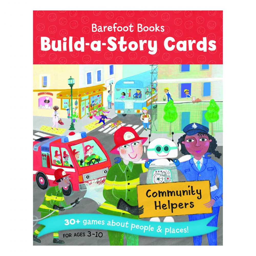 Alternate Image #4 of Build-a-Story Cards: Community Helpers - Card Deck