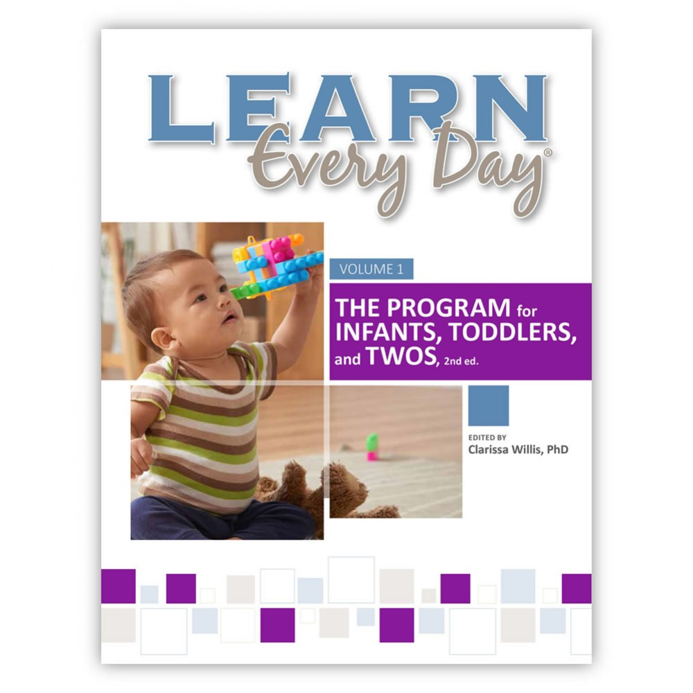 Alternate Image #2 of Learn Every Day™ : The Program for Infants, Toddlers, and Twos, 2nd Edition
