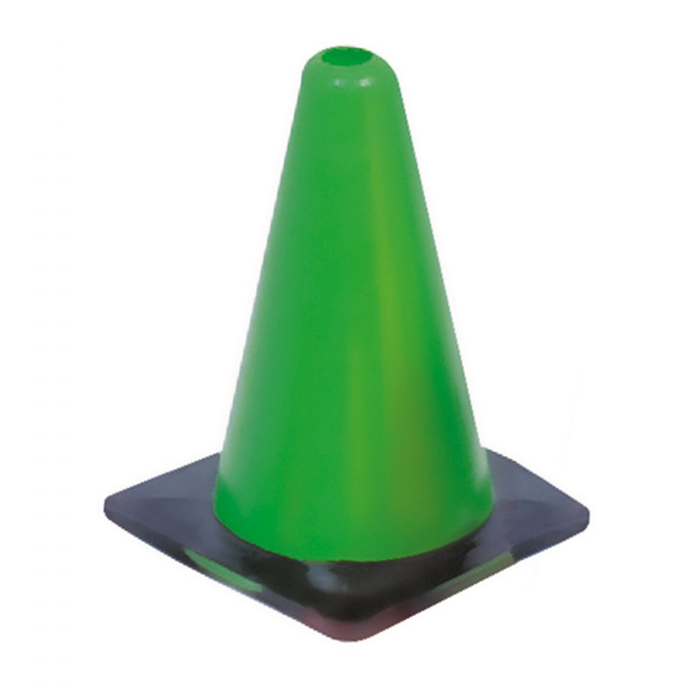 "Alternate Image #1 of 12"" Outdoor Durable Rainbow Cone - Set of 6"