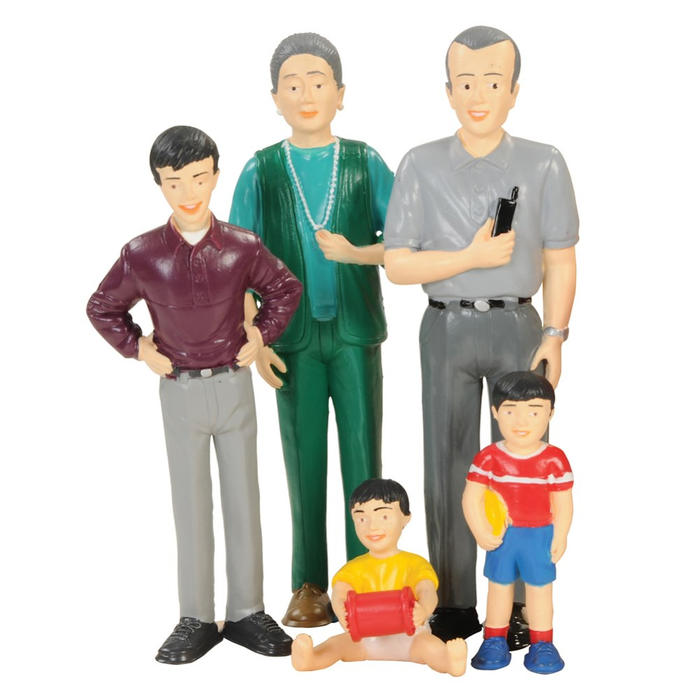 Alternate Image #2 of Family Play Set - Asian