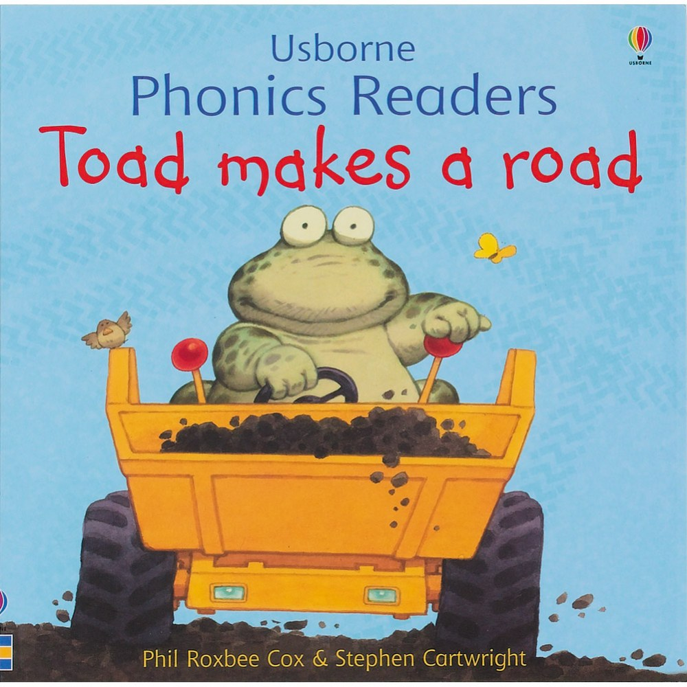 Toad Makes A Road - Paperback