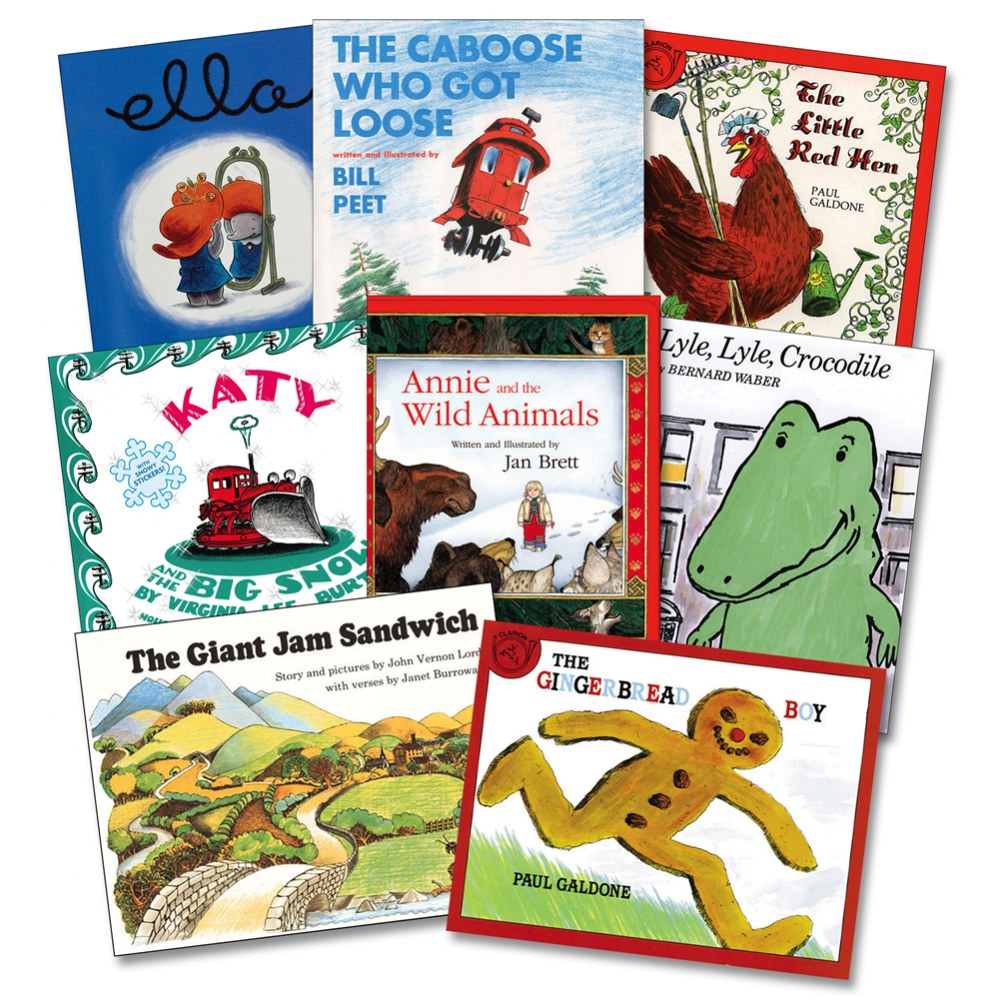 Best Classroom Listening Library - Set of 8