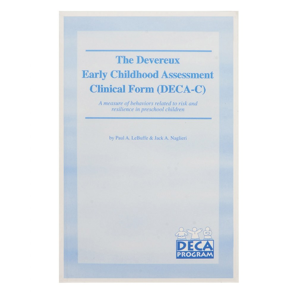 Alternate Image #1 of Devereux Early Childhood Assessment Clinical (DECA-C) Kit