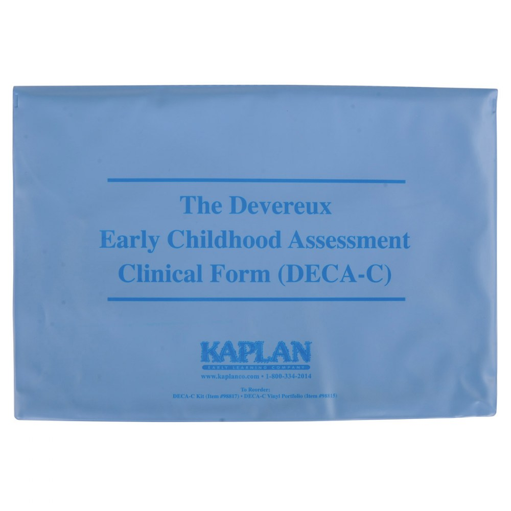 Alternate Image #5 of Devereux Early Childhood Assessment Clinical (DECA-C) Kit