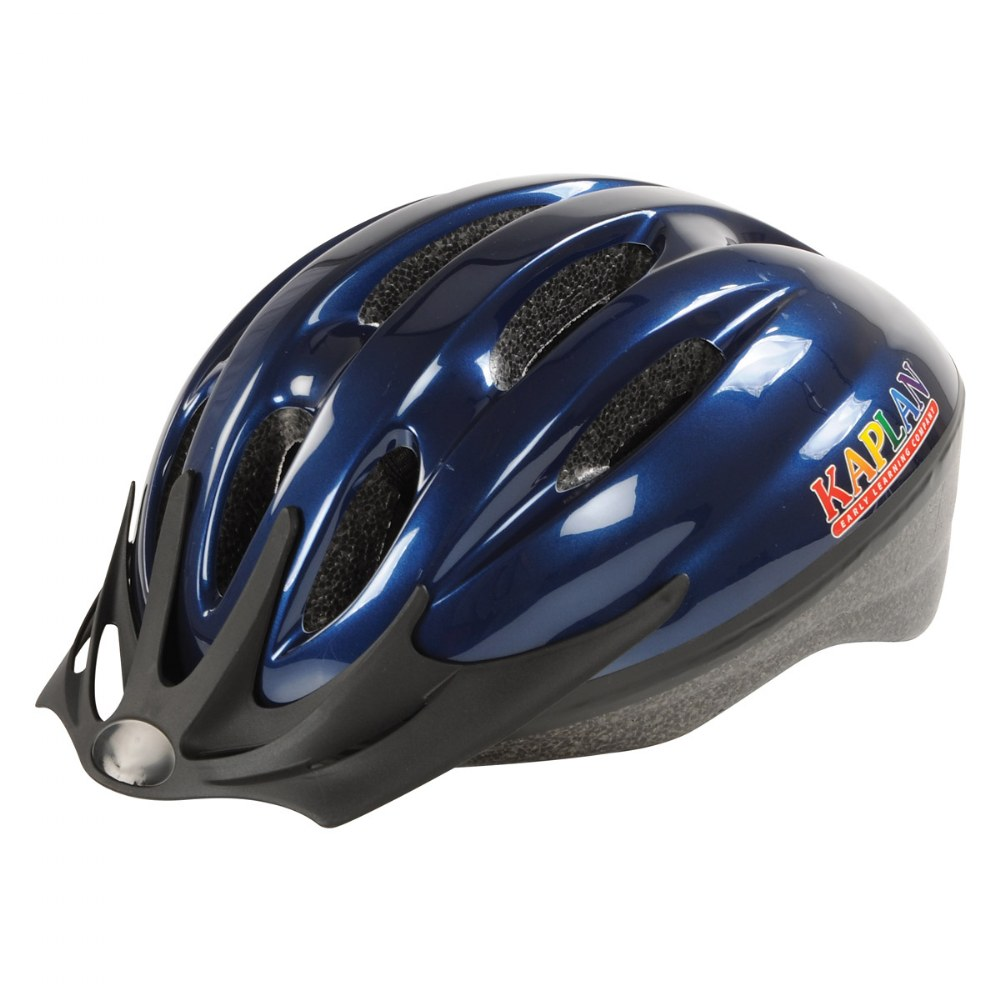 Alternate Image #1 of Child's Safety Helmet Size Small - Fluorescent Blue