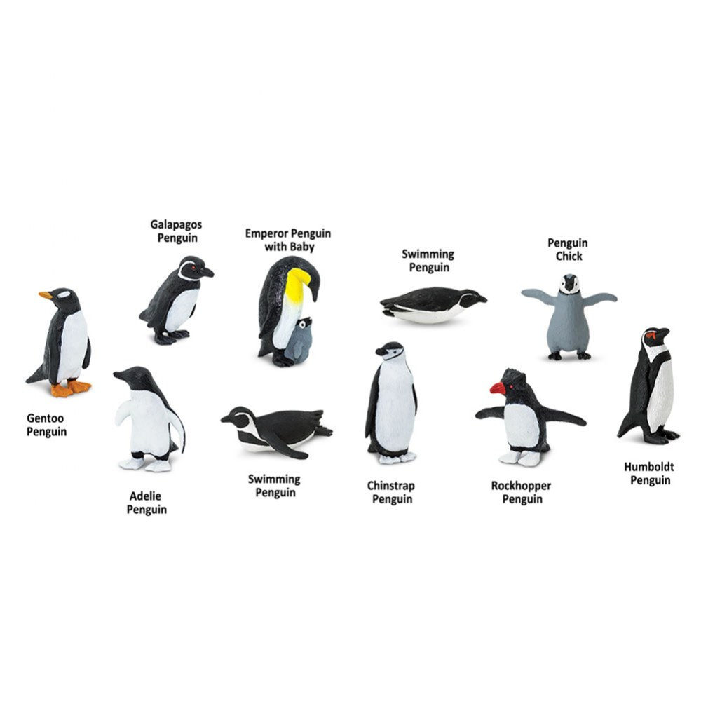 Alternate Image #1 of Penguin Minis - Set of 10