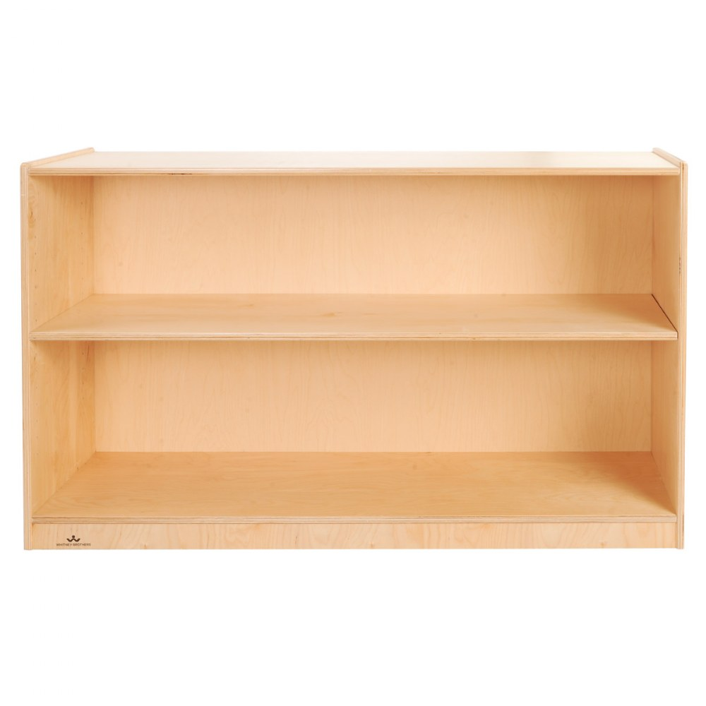 Alternate Image #2 of Carolina 2-Shelf Storage - Solid Back