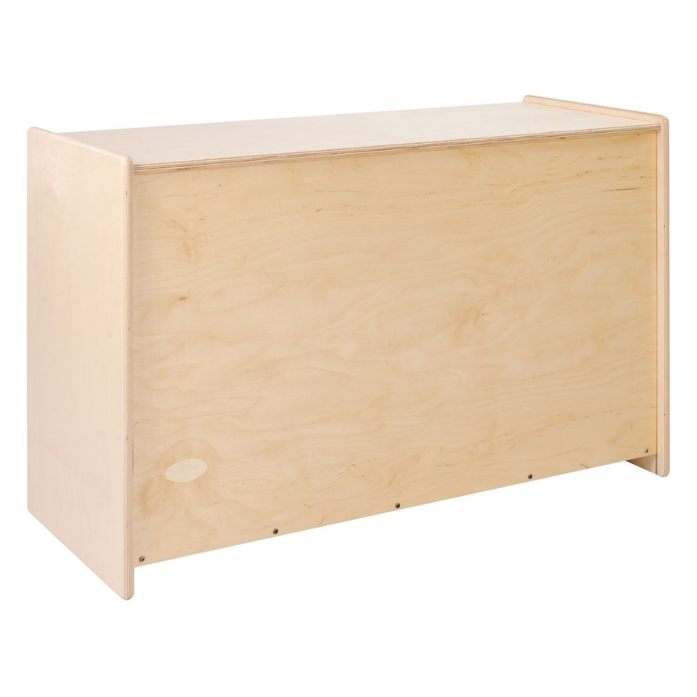 Alternate Image #1 of Carolina Shape-A-Space™ Two Shelf Storage Unit - Solid Back
