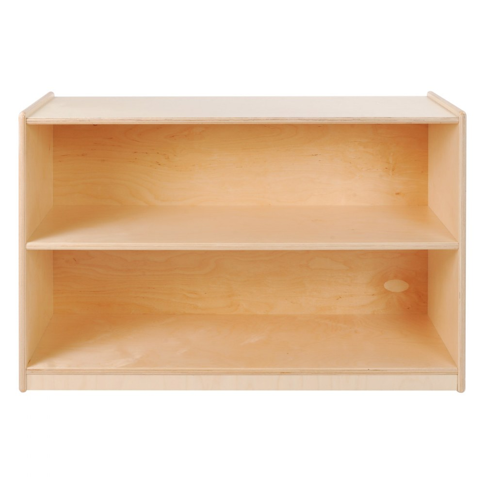 Alternate Image #2 of Carolina Shape-A-Space™ Two Shelf Storage Unit - Solid Back
