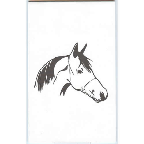 LAP™ Horse Illustration Pad