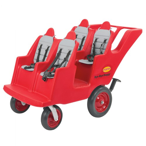 Fat Tire 4-Passenger Bye-Bye Buggy - Red