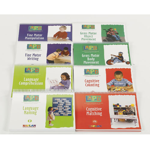 LAP™-D, 3rd Ed. Administration Manual - Set of 8, Plus CD with Spanish Manuals