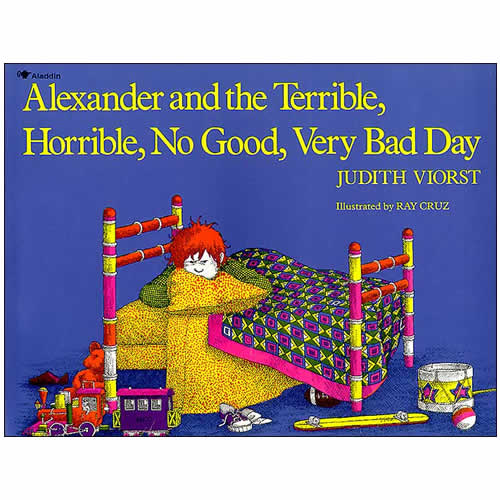 Alexander & The Terrible Horrible No Good Very Bad Day (Paperback)