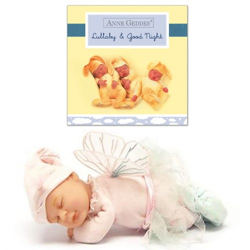 Anne Geddes Baby Fairy & Board Book Set