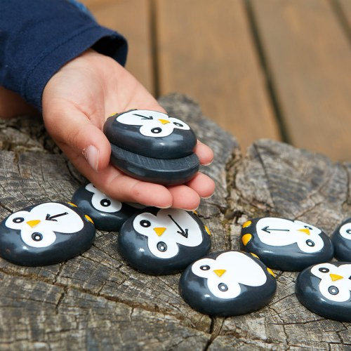 Alternate Image #3 of Pre-Coding Penguin Stones & Activity Cards