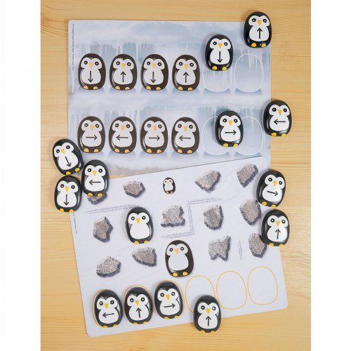 Alternate Image #5 of Pre-Coding Penguin Stones & Activity Cards