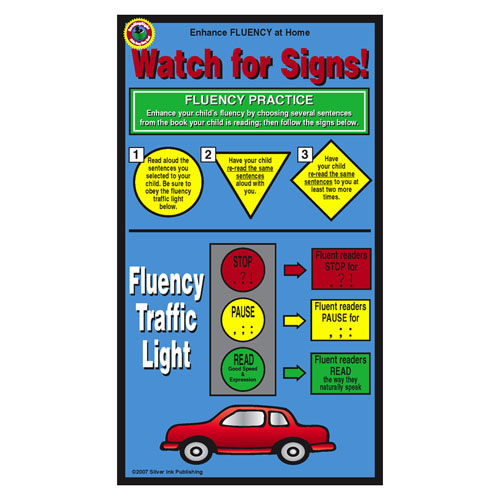 Fluency Home Literacy Cards (Pack of 10)