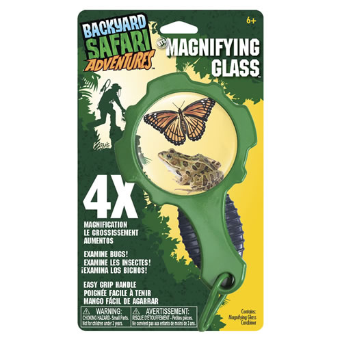 backyard safari adventures magnifying glass