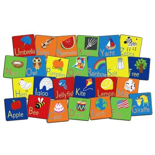 Stow N' Go Alphabet Carpet Squares (Set Of 26