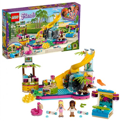 LEGO® Friends Andrea's Pool Party (41374)