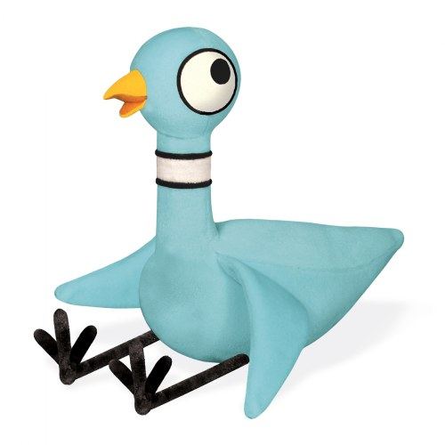 Alternate Image #3 of Don't Let The Pigeon Drive The Bus (Hardcover) & Pigeon Plush With Voice