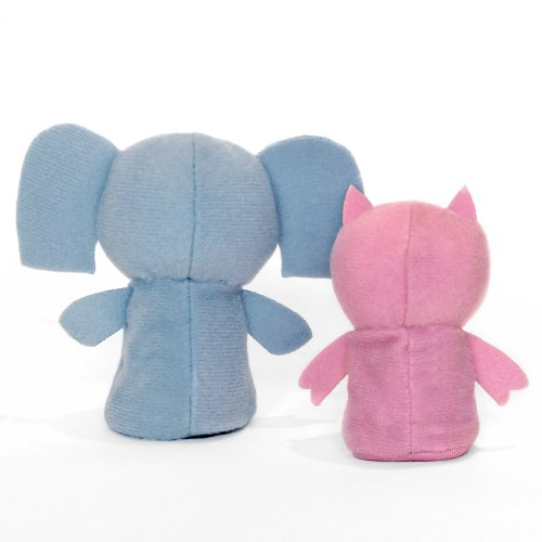Alternate Image #1 of Mo Willems Elephant & Piggie Puppets & Book Set