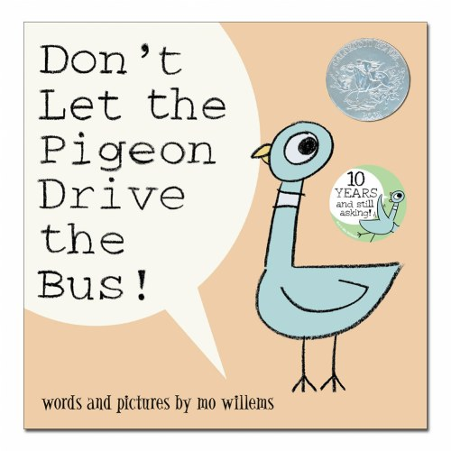 Alternate Image #4 of Don't Let The Pigeon Drive The Bus (Hardcover) & Pigeon Plush With Voice