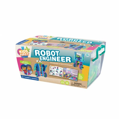 Kids First Robot Engineer Kit (53 Pieces)
