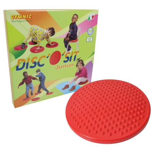 Gymnic Disc O Sit Jr Air Cushion Red