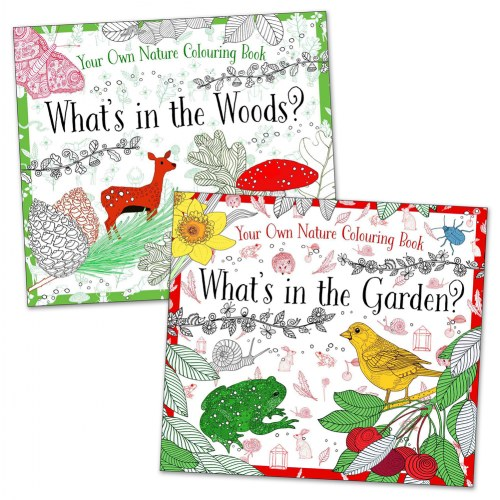 Your Own Nature Coloring Books