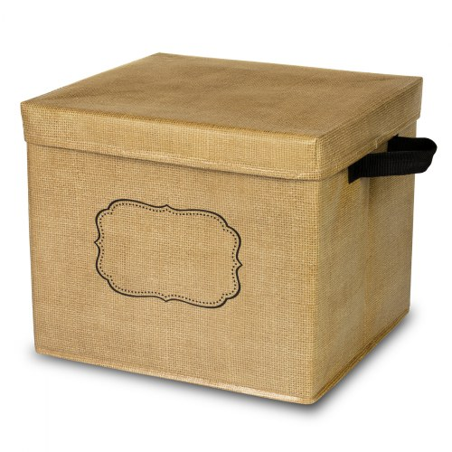 Alternate Image #1 of Storage Bins - Burlap