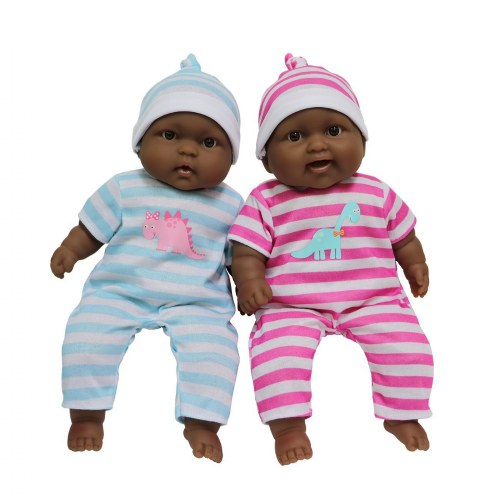 "13"" Lots to Cuddle Babies - Twins (African American)"