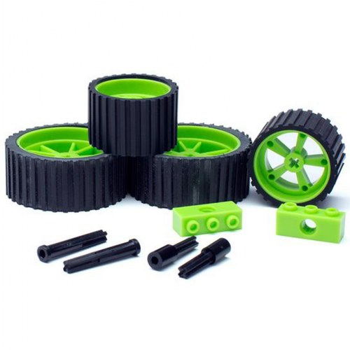 Meeper Bot 2.0 Wheel Pack - Green