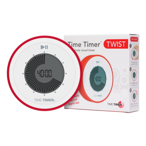 time timer twist 90 minute visual digital timer