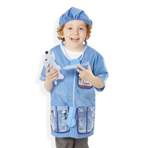 Alternate Image #6 of Veterinarian Dress Up & Accessories Playset