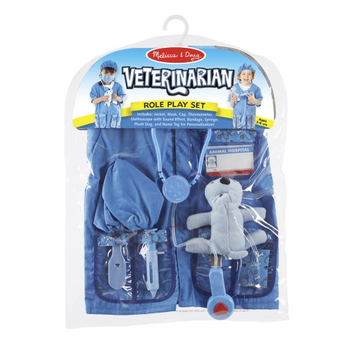 Alternate Image #7 of Veterinarian Dress Up & Accessories Playset