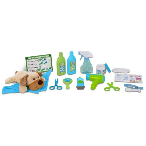Wash Trim Dog Groomer Play Set