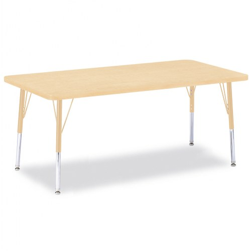 "30"" x 60"" Rectangular Activity Table - Seats 6"